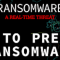 A guide on how to prevent ransomware