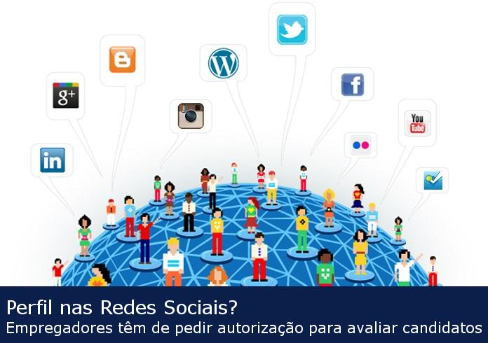 Perfil nas redes sociais? Empregadores têm de pedir autorização para avaliar candidatos