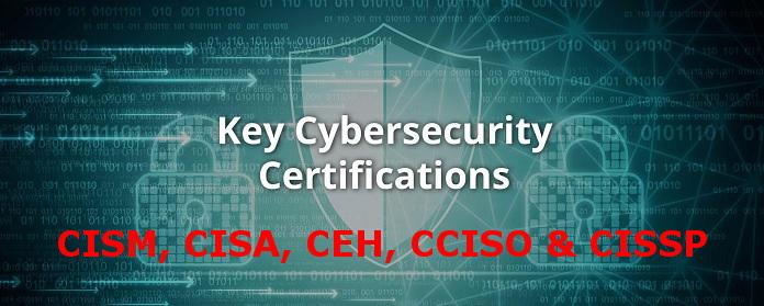 CISM, CISA, CEH, CCISO & CISSP training
