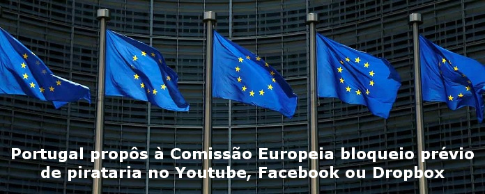 bloqueio de pirataria no Youtube, Facebook ou Dropbox