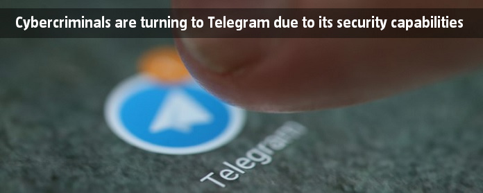 Cybercriminals are turning to Telegram due to its security