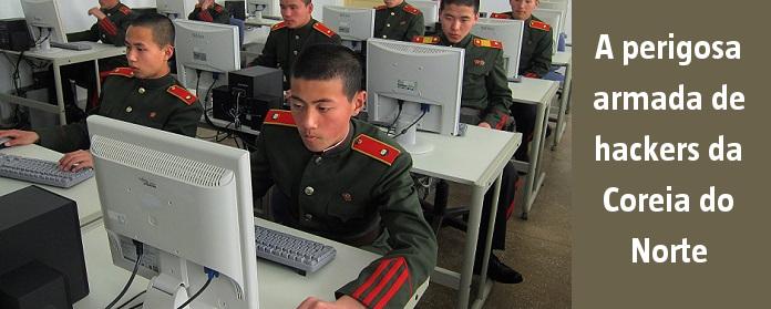 A perigosa armada de hackers da Coreia do Norte
