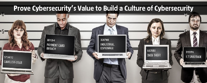 Prove Cybersecurity's Value to Build a Culture of Cybersecurity