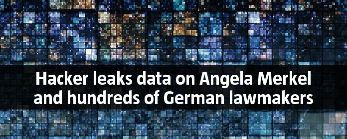 Hacker leaks data on Angela Merkel and hundreds of German lawmakers