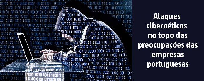 Ataques cibernéticos no topo das preocupações das empresas portuguesas