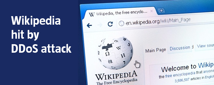 Wikipedia hit by DDoS attack