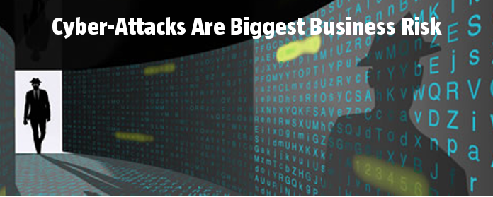 Cyber-Attacks Are Biggest Business Risk in Europe and US