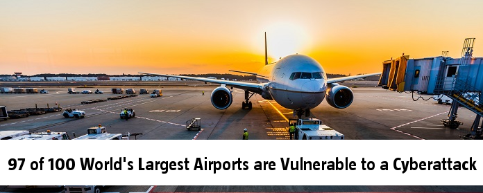 97 of 100 World's Largest Airports are Vulnerable to a Cyberattack