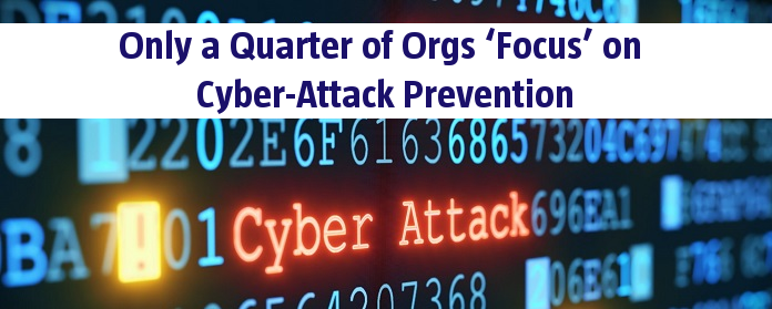 Only a Quarter of Orgs 'Focus' on Cyber-Attack Prevention