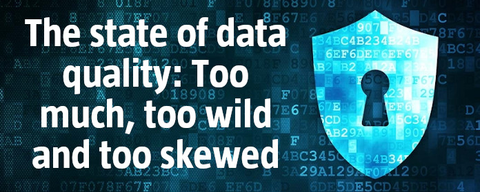 The state of data quality: Too much, too wild and too skewed